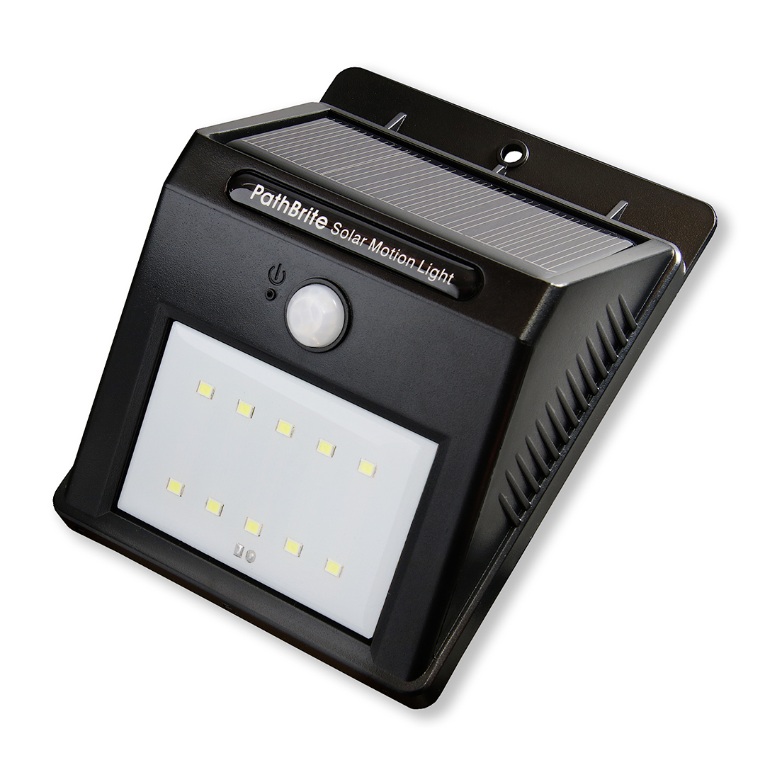 pathbrite solar motion sensor light